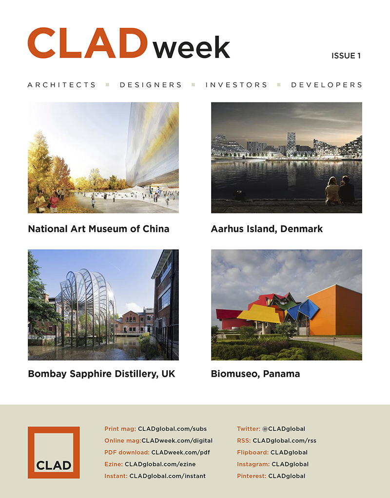 CLADweek: the news magazine for professionals working in architecture and design